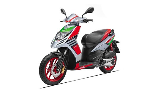 2018 Aprilia SR 150 Race Grey with Red Color (Maze Grey with Red)