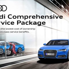 Limited Period Audi Comprehensive Service Package Announced