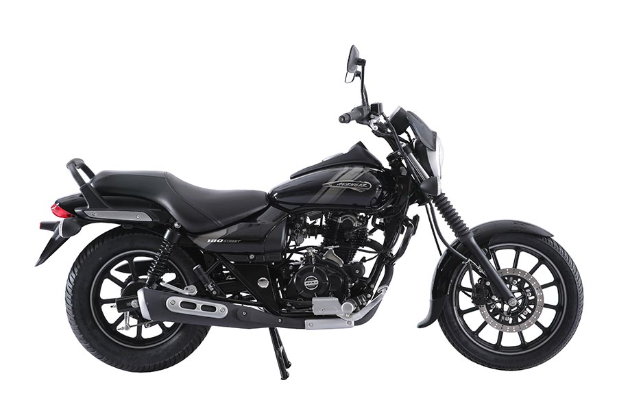 Bajaj Avenger Street 180 in Black Color