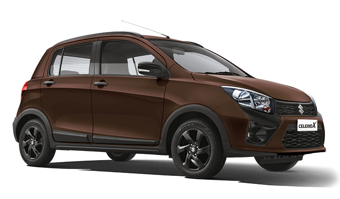 2018 Maruti Celerio X Brown Color (Caffeine Brown)