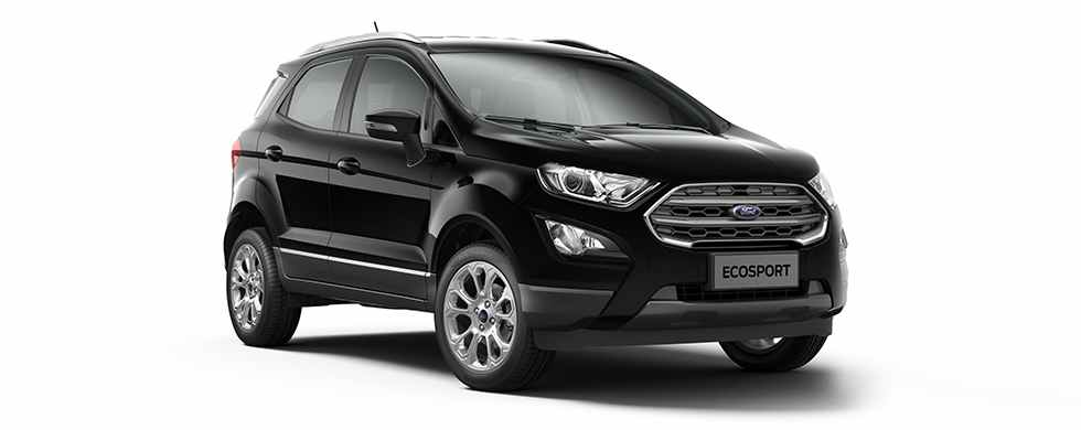 2018 Ford EcoSport Black Color (Absolute Black)