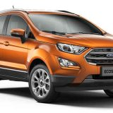 Ford EcoSport 2018 Colors: Blue, Black, White, Silver, Grey, Red, Canyon Ridge