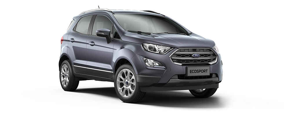 2018 Ford EcoSport Grey Color (Smoke Grey)