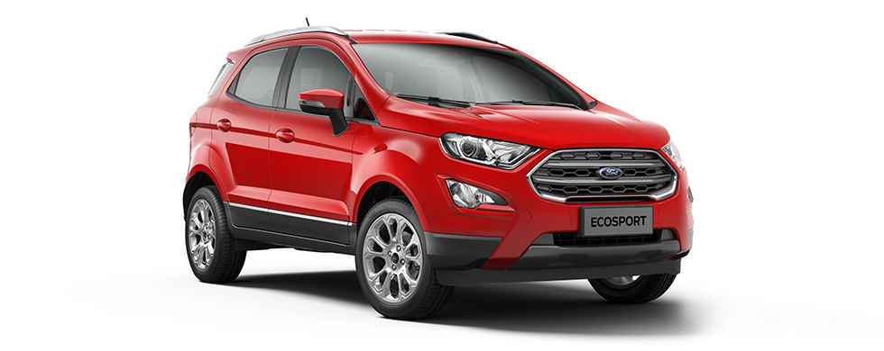2018 Ford EcoSport Red Color (Race Red)