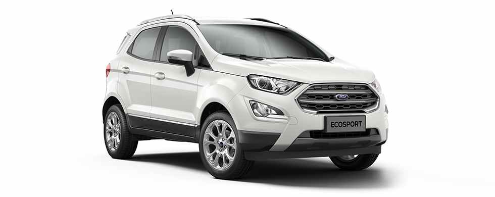 2018 Ford EcoSport White Color (Diamond White)