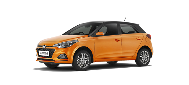 2018 New Hyundai Elite I20 Colors Red Blue Orange White Silver