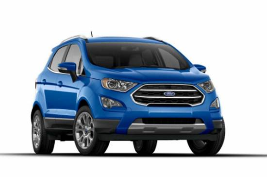 2018 New Ford EcoSport Colors
