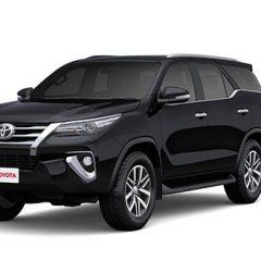 Toyota Fortuner 2018 Colors: Brown, Super White, Black, Bronze, Grey, Silver, White Pearl