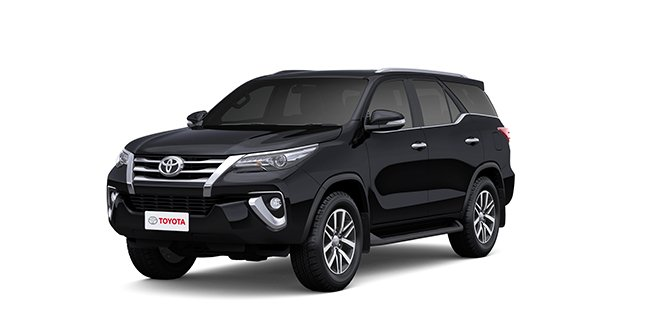 Toyota Fortuner 2018 Black Color (Attitude Black)