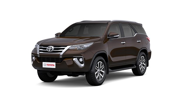 Toyota Fortuner 2018 Brown Color (Phantom Brown)