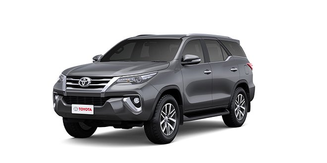 Toyota Fortuner 2018 Grey Color (Grey Metallic)