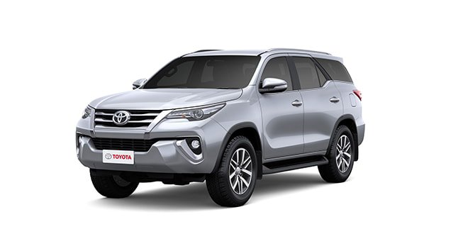 Toyota Fortuner 2018 Silver Color (Silver Metallic)