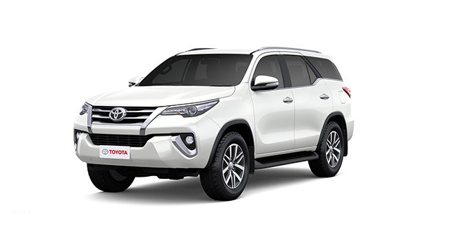 Toyota Fortuner 2018 White Color (White Pearl Crystal Shine)