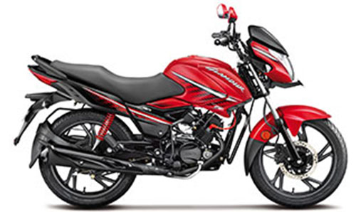 2018 Hero Glamour Red Color (Candy Blazing Red)
