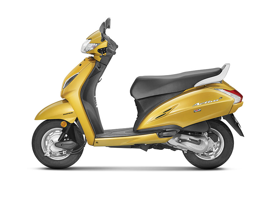 honda activa 5g new scooter edition unveiled at auto expo 2018 gaadikey. Black Bedroom Furniture Sets. Home Design Ideas