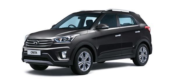 2018 Hyundai Creta Black Color (Phantom Black)