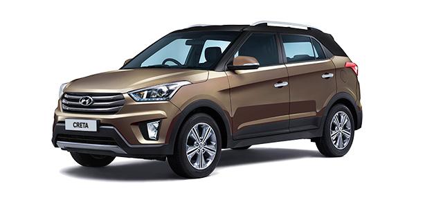 2018 Hyundai Creta Brown Dual Tone Color (Earth Brown Dual Tone)