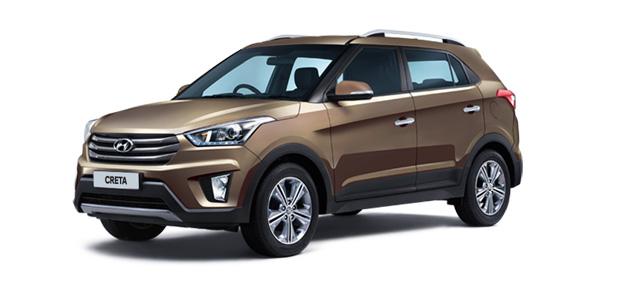 2018 Hyundai Creta Brown Color (Earth Brown)