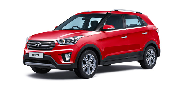 2018 Hyundai Creta Red Color (Red Passion)