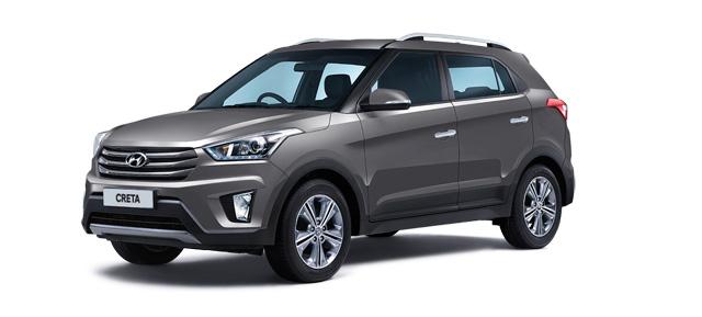 2018 Hyundai Creta Star Dust Color