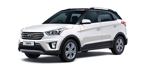 2018 Hyundai Creta White Dual Tone Color (Polar white Dual Tone)