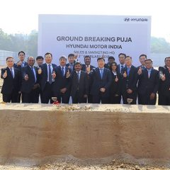 Hyundai India Performs Ground-Breaking Puja