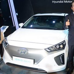 Hyundai Showcases IONIQ EV at Auto Expo 2018