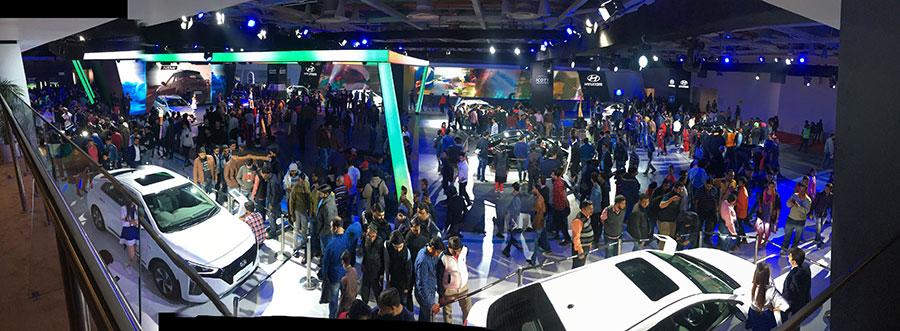 Hyundai India Pavillion Auto Expo 2018