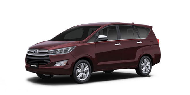 2018 Innova Red Color (Garnet Red)