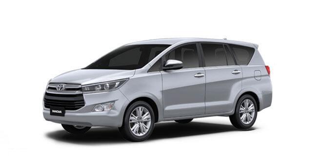 2018 Innova Silver Color