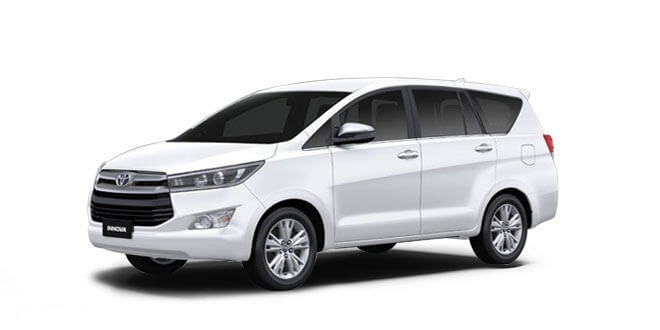 2018 Innova White Color (White Pearl Crystal Shine)