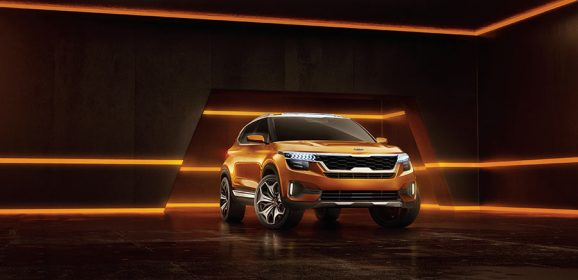 Kia SP Concept and 16 global models Showcased at Auto Expo 2018