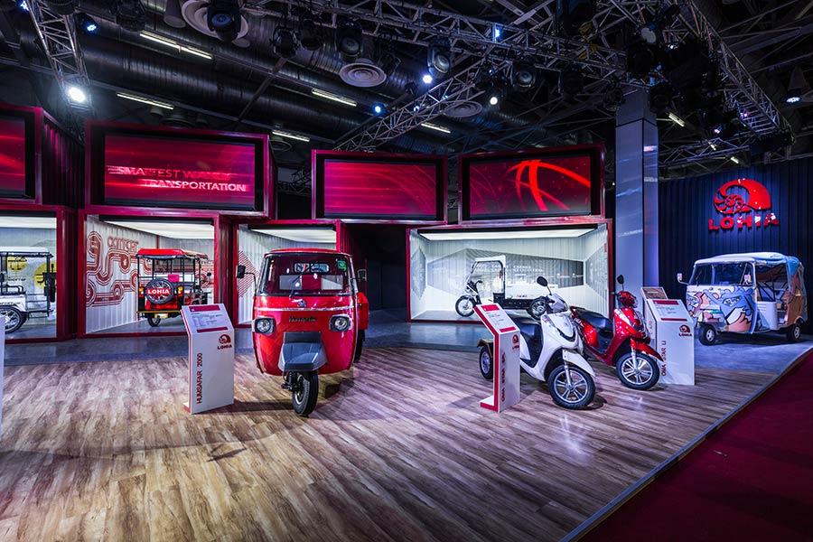 Best Pavillion Auto EV at Auto Expo 2018