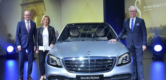Mercedes-Maybach S 650 Launched at the Auto Expo 2018