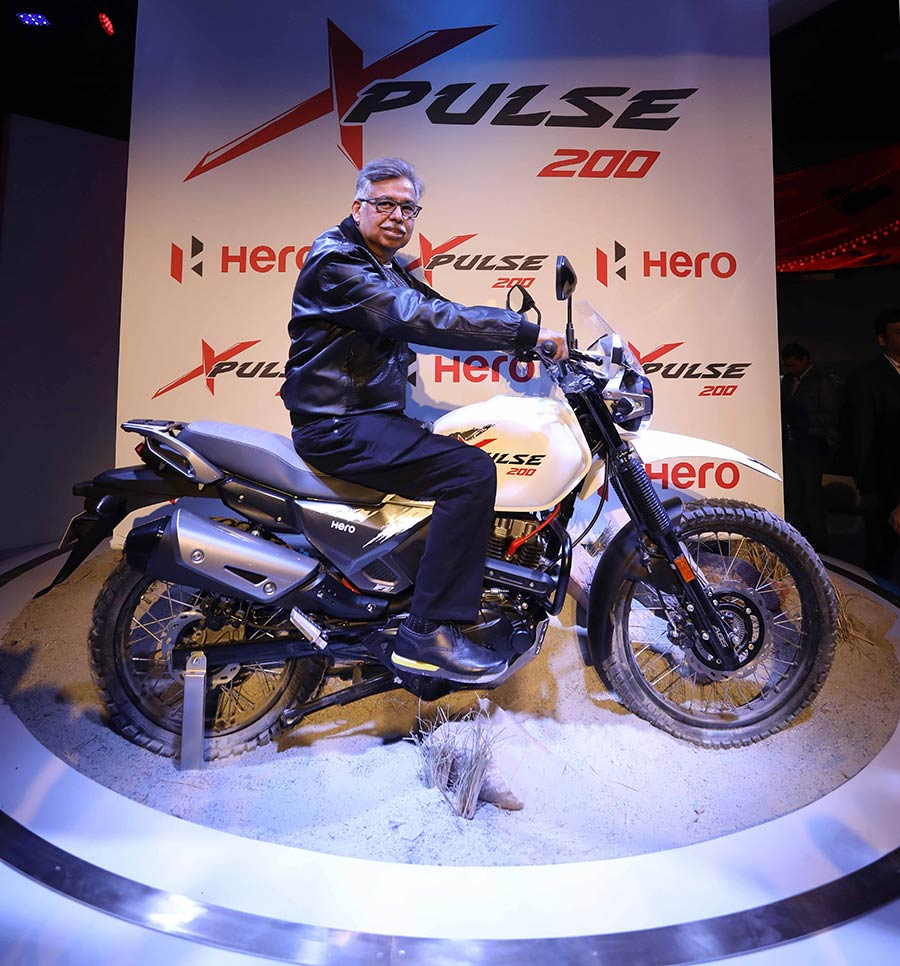 2018 Hero XPulse Adventure Motorcycle Launch India