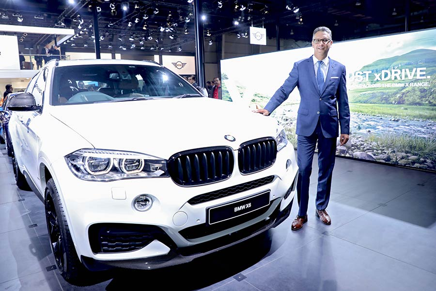 New BMW X6 XDrive