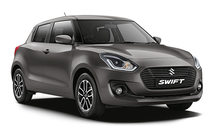 New Swift 2018 Grey Color - Maruti Swift Magma Grey Color Variant