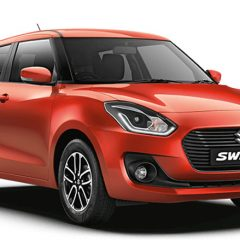 New Swift 2018 Colors: Red, White, Silver, Grey, Blue, Orange