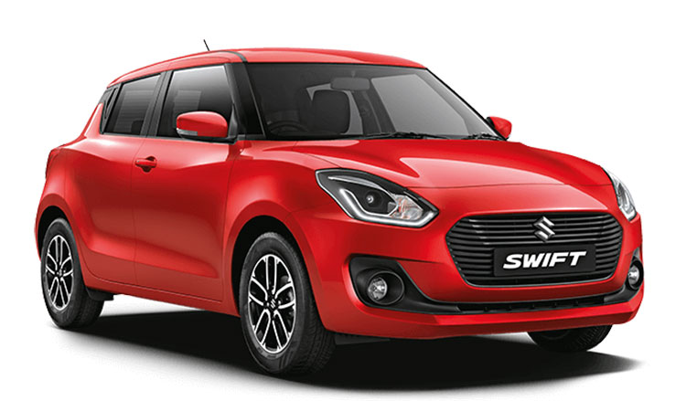 New 2018 Maruti Swift Solid Red Color