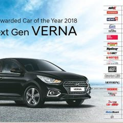 2018 Hyundai Verna: The Car with Most Awards in 2018