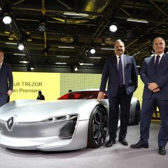 Renault TREZOR and ZOE Concepts showcased at Auto Expo 2018