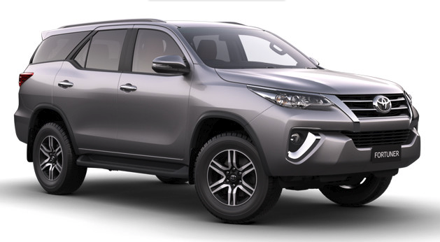 Toyota Fortuner 2018 Colors
