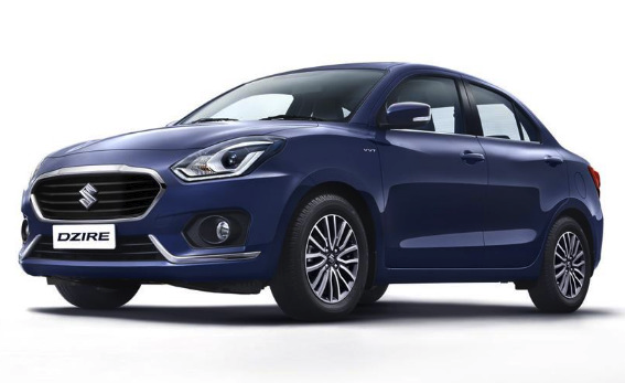 2020 Maruti Dzire Colors - Maruti Dzire 2020 model colors