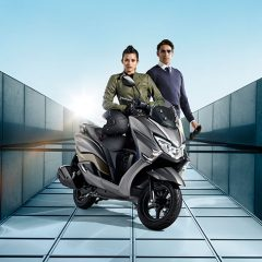 Suzuki Burgman Street 125cc Scooter Launched at Auto Expo 2018