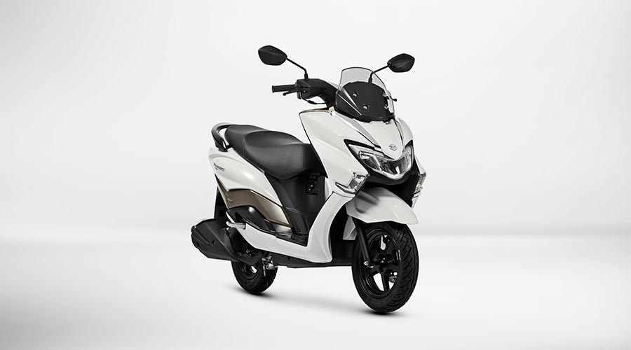 suzuki burgman street 125cc scooter launched at auto expo