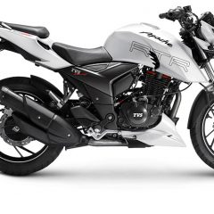 TVS Apache RTR 200 4V with ABS Launched