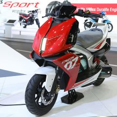 TVS CREON Electric Scooter Concept Displayed at Auto Expo 2018