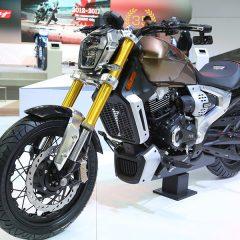 TVS Zeppelin Motorcycle Cruiser Concept Shown at Auto Expo 2018