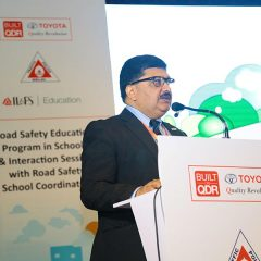 "Toyota leads the way in driving ""Road Safety"" across India"