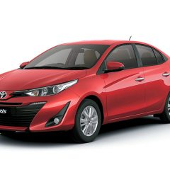 Toyota Yaris New Sedan Unveiled in India at Auto Expo 2018